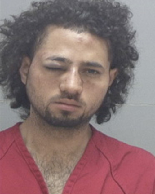 Prosecutors charged JuanCarlo Hernandez, 23, Tuesday for sexually assaulting a woman who wouldn't dance with him and stabbing two others at a Salt Lake City night club. Hernandez was charged in Third District Court with one count of aggravated assault, a second-degree felony, a count of aggravated assault, a third-degree felony, sexual battery, a class A misdemeanor, and false personal information to a police officer, a class C misdemeanor. Courtesy Salt Lake County Jail