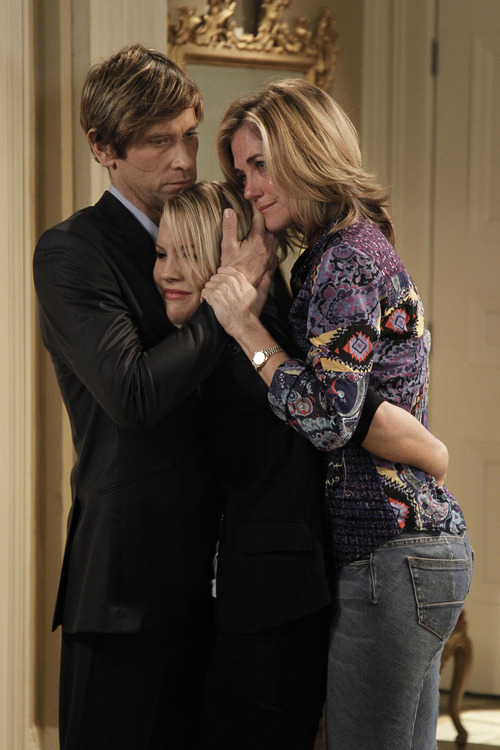Roger Howarth (Todd), Kristen Alderson (Starr) and Kassie DePaiva (Blair) in a scene from ABC Daytime's