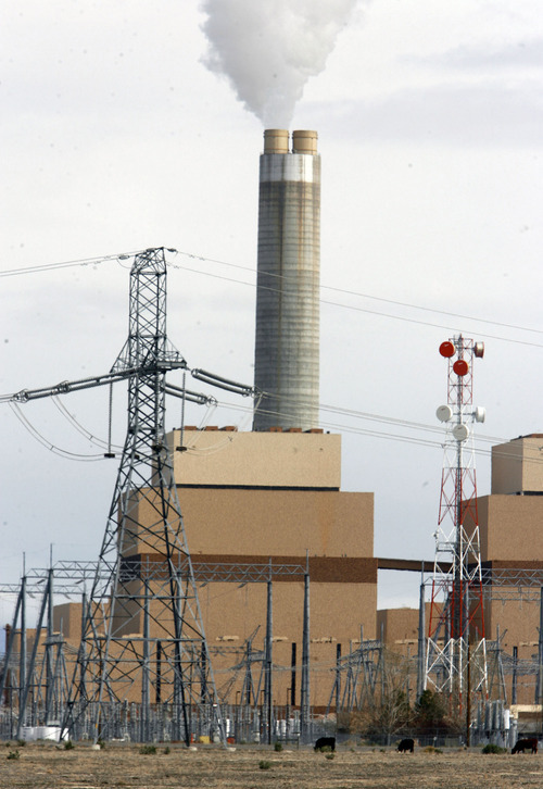 Tribune File Photo The Intermnountain Power Plant just north of Delta is on the list of the top 100 emitters of greenhouse gasses in the country.