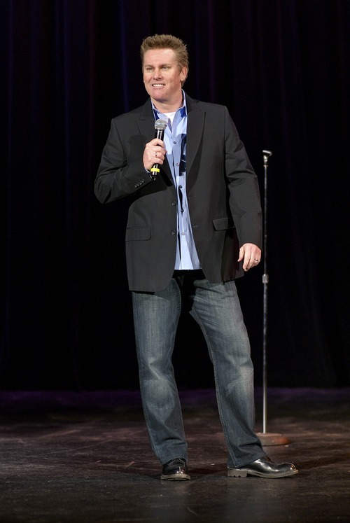 Brian Regan performs in Tarrytown, N.Y.