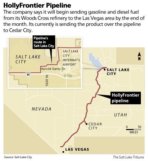 New Pipeline To Vegas May Impact Utah Gas Prices The Salt Lake Tribune