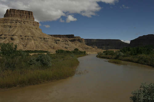 Chris Detrick  |  Tribune file photo  Water rightson some 53,600 acre feet of water from the Green River are at issue in the plan for Utah's first nuclear power plant.