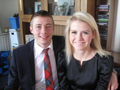 Elizabeth Smart and Matthew Gilmour in a photo posted on Facebook. Courtesy photo