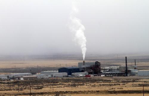 Rick Egan  | The Salt Lake Tribune   The TOCDF (Tooele Chemical Agent Disposal Facility) in Stockton, Utah, Wednesday, January 18, 2012.