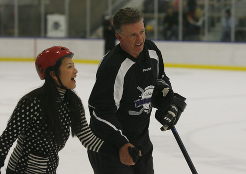 Sundance: Hollywood And Hockey Stars Hit The Ice For A