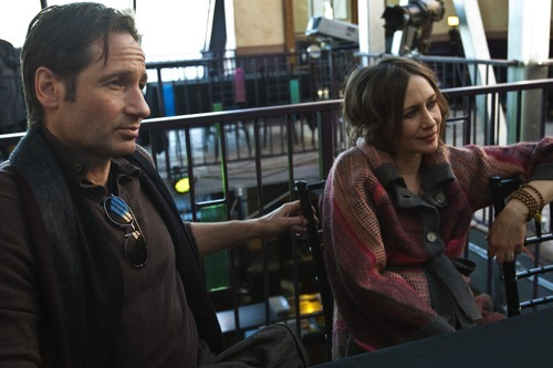 Chris Detrick  |  The Salt Lake Tribune David Duchovny and Vera Farmiga talk about their movie,