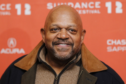 Actor Charles S. Dutton poses at the premiere of