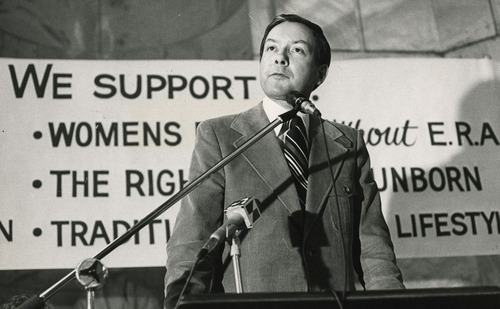 Tribune File Photo  Orrin Hatch, Nov. 20, 1977.