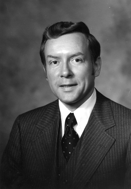 Senator Orrin Hatch ca. 1976. Credit: The Salt Lake Tribune Library