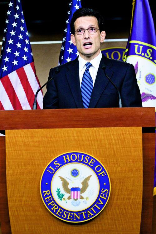Associated Press File Photo House Majority Leader Eric Cantor, R-Va.