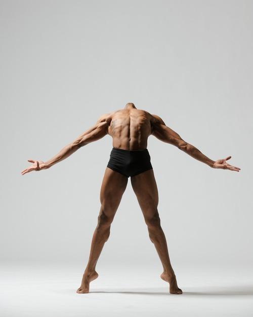 Odyssey Dance Theatre dancer Jeffrey Louizia. (Courtesy Christopher Peddecord)
