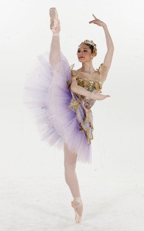 Trent Nelson  |  The Salt Lake Tribune Beckanne Sisk is performing in Ballet West's