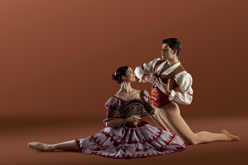 Ballet West's Elizabeth McGrath and Rex Tilton in the Utah premiere of Anna-Marie Holmes'