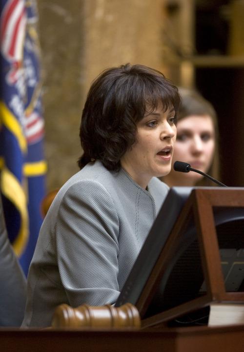 Al Hartmann     Tribune File Photo House Speaker Becky Lockhart, R-Provo.