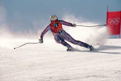 Tribune file photo Picabo Street in competes in the Women's Downhill during the 2002 Salt Lake Olympics.
