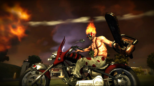 Screenshot from the upcoming PlayStation 3 game,