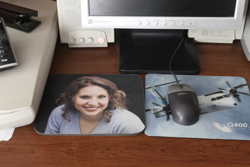 Rick Egan  | The Salt Lake Tribune   Susan Powell's picture is on a mouse pad on the desk in the room where her sons Charlie and Braden lived in the home of Chuck and Judy Cox, in Puyallup, Wash., on Monday, Feb. 6, 2012.