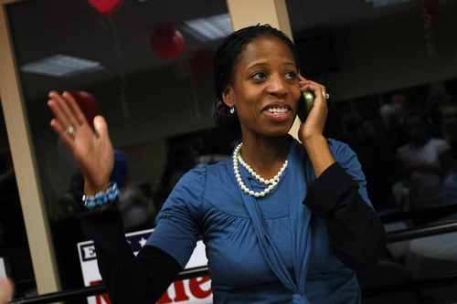 Photo by Chris Detrick  |  Tribune file photo Mia Love stands by her record in Saratoga Springs, saying after skyrocketing growth and a devastating recession, her town is in good financial shape.