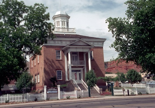 Old County Courthouse in St. George, Utah. Courtesy Calvin Beale