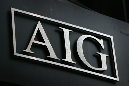 Mark Lennihan  |  Associated Press file photo AIG logo is shown in New York. While the economy has struggled to recover over the past two years, big U.S. companies have not only generated profits but grown them, quarter after quarter. companies have not only generated profits but grown them, quarter after quarter.