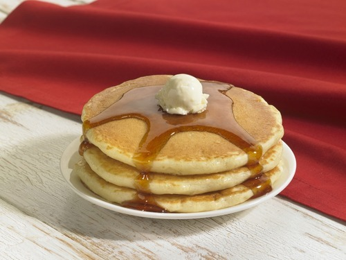 IHOP is offering a free short stack of pancakes on Feb. 18. Courtesy IHOP