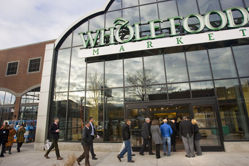 Al Hartmann  |  The Salt Lake Tribune   The new Whole Foods in Trolley Square opened March 14.