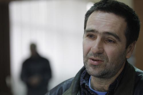 Amel Emric   Special to the Tribune Suljo Talovic, father of Sulejman Talovic, answers questions in mid-January near his home in Kalesija, Bosnia and Herzegovina.