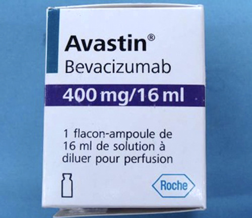 This undated photo provided by Genentech shows a counterfeit package for the cancer drug Avastin. The maker of Avastin is warning doctors and patients about counterfeit vials of the product distributed in the U.S. Roche's Genentech unit says the fake products do not contain the key ingredient in Avastin, which is used to treat cancers of the colon, lung, kidney and brain. (AP Photo/Genentech)