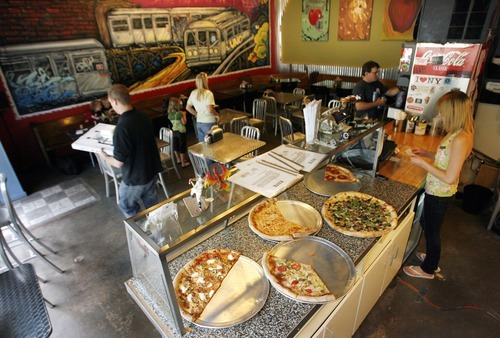 Tribune file photo Este Pizzeria in Sugar House (and its downtown Salt Lake City location on 200 South) is open until midnight on Friday and Saturday.