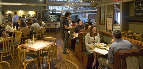 Tribune file photo Brew pubs, including Desert Edge Brewery in Trolley Square, are probably the best place to end an evening of club crawling, as they offer fantastic beer and food and late-night hours.