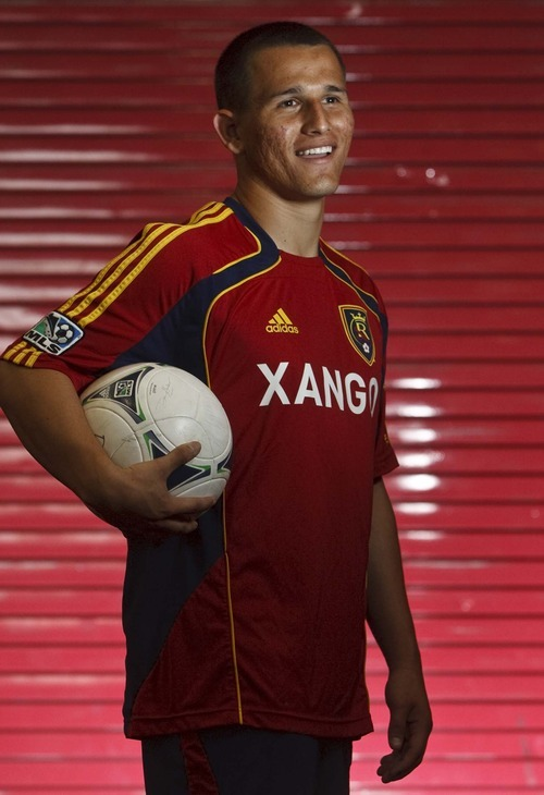 Leah Hogsten  |  The Salt Lake Tribune  Real Salt Lake's Luis Gil  Friday, February 17, 2012 has been one of the nation's most highly regarded young players all through his teen-age years. As a professional, his first significant playing time for RSL was last season, and now with offseason departures, he could be poised for a real breakout year.