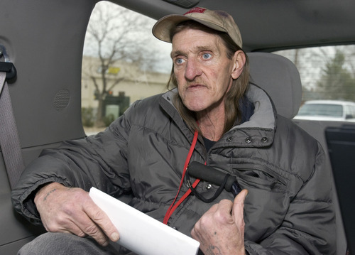 Al Hartmann  |  The Salt Lake Tribune Reflecting on years of life on the street and panhandling to feed his heroin addiction, Jeffrey Moss says,