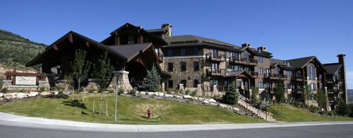 Tribune file photo The Dakota Inn Lodge & Golden Door Spa, the first Waldorf Astoria property in Utah, opened in Park City in 2009.