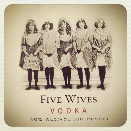 Five Wives Vodka is a new spirit made in Utah. Courtesy photo