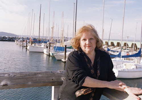 Ann Rule, a Seattle-based author is shown in Seattle, Feb. 20, 1989.  (AP Photo/Robert Kaiser)