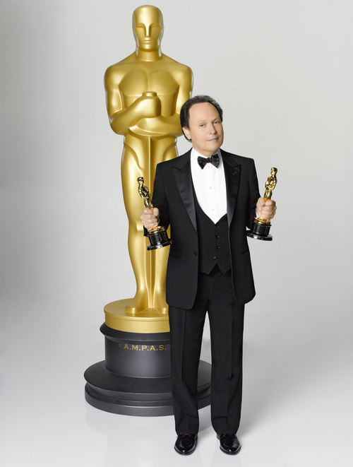 Billy Crystal serves as host for the 84th Academy Awards, which will be presented on Sunday, February 26, 2012, at the Kodak Theatre at Hollywood & Highland Center, and televised live by the ABC Television Network. (ABC/BOB D'AMICO)