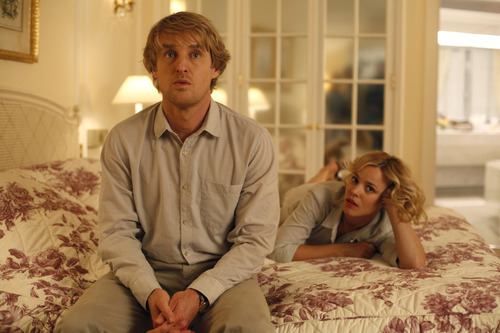 Gil (Owen Wilson) and Inez (Rachel McAdams) are an engaged couple vacationing in Paris in Woody Allen's comedy