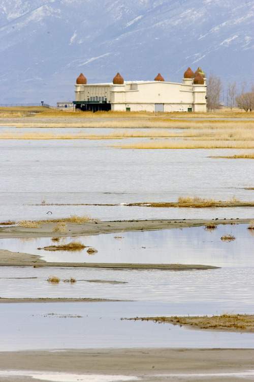 Paul Fraughton   The Salt Lake Tribune  Saltair on the shores of the Great Salt Lake on Wednesday. A new study says the economic value of the lake tops $1.3 billion.