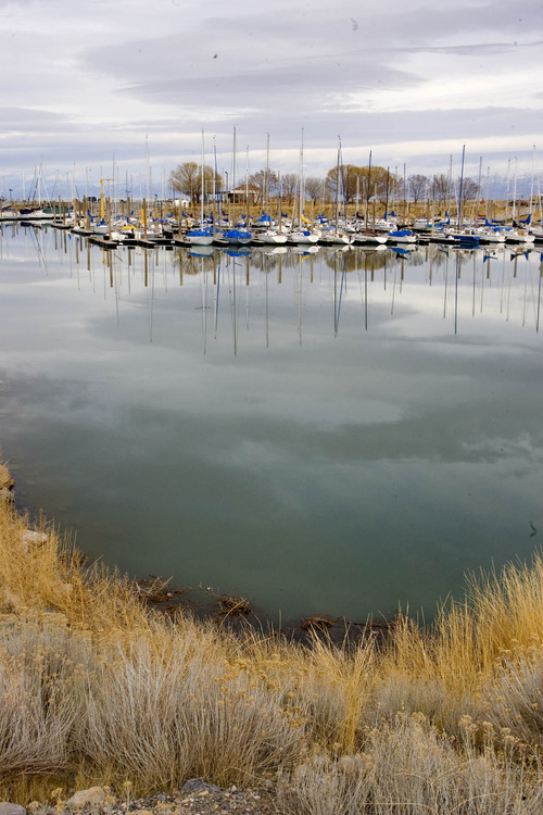 Paul Fraughton | The Salt Lake Tribune  The Great Salt Lake Marina is just one of the ways the lake generates money for Utah's economy -- a new study says more than $1.3 billion annually.