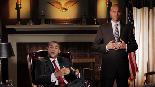 Jordan Peele and Keegan-Michael Key, from their Comedy Central show. (Photo courtesy of Comedy Central)
