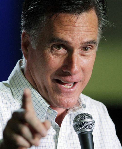 Republican presidential candidate, former Massachusetts Gov. Mitt Romney, campaigns in Elko, Nev. By now it's clear that the Republican nomination contest of the 2012 presidential race is showing the nation candidates' stylistic extremes rarely seen in modern presidential politics. (AP Photo/Ted S. Warren, File)