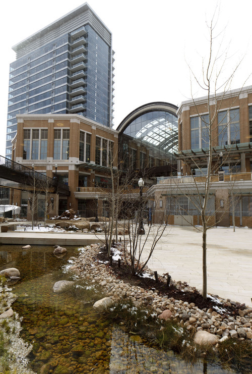 Trent Nelson     The Salt Lake Tribune The City Creek Center shopping mall has unveiled a tenant list that's a mix of upscale retailers as well as more affordable and mainstream fair.