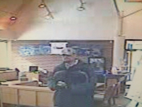 US Bank robbery suspect. (NSL Police photo)