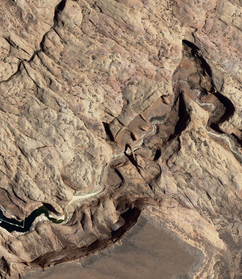 Rainbow Bridge National Monument, Utah. Courtesy image from http://www.geoeye.com/CorpSite/gallery/detail.aspx?iid=147&gid=17