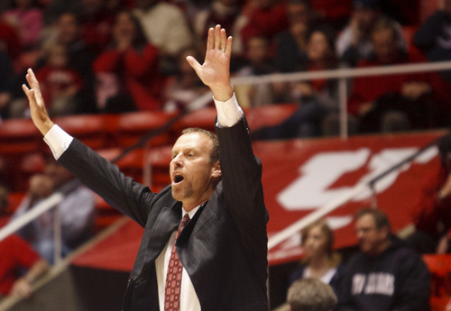 Trent Nelson  |  The Salt Lake Tribune With a roster depleted by transfers and injuries, coach Larry Krystowiak faced minimal expectations in his first year at Utah.
