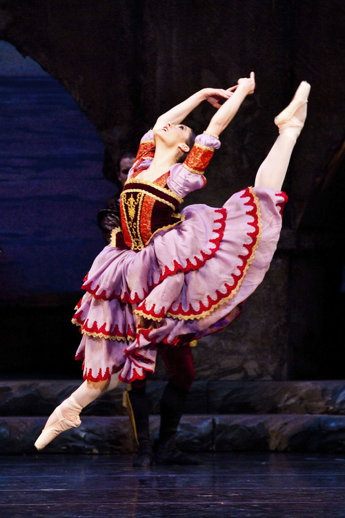 Ballet West's Beckanne Sisk performing in