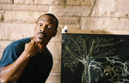 In this film image released by Paramount Pictures, Eddie Murphy is shown in a scene from