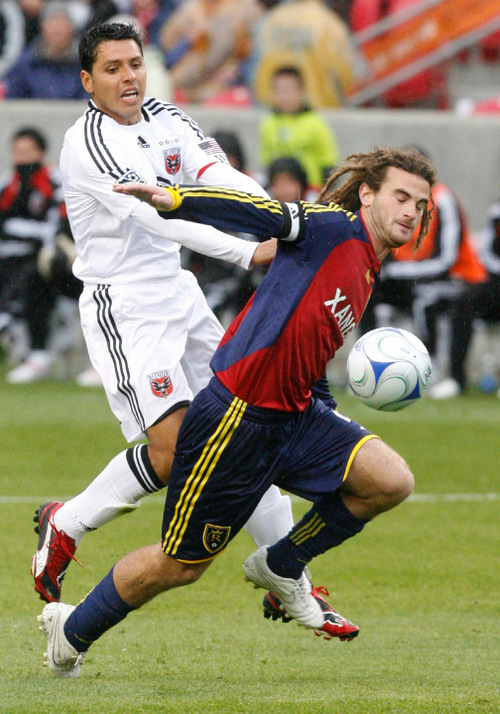 Tribune file photo Kyle Beckerman and his Real Salt Lake teammates will try to close out the Seattle Sounders Wednesday night in their MLS playoff series at CenturyLink Field.