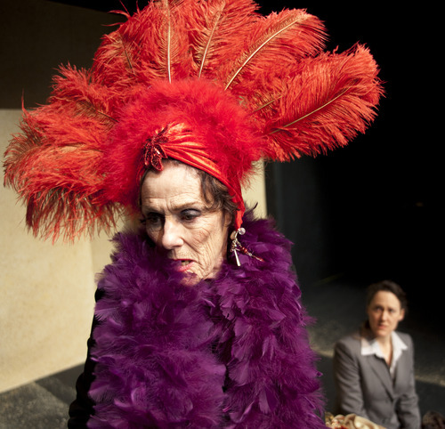 Anne Cullimore Decker plays an aging casino-strip beauty in the world premiere of Brighde Mullin's