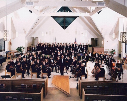 American West Symphony, with conductor Joel Rosenberg. (Courtesy image)